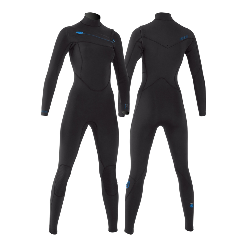 MDNS SURF - Women's Eco-Friendly Wetsuits - Puure Yulex - Chest Zip Steamer