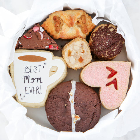 Mother's Day Cookie Tin: seven varieties of our moms' favorites all in a unique cookie tin!
