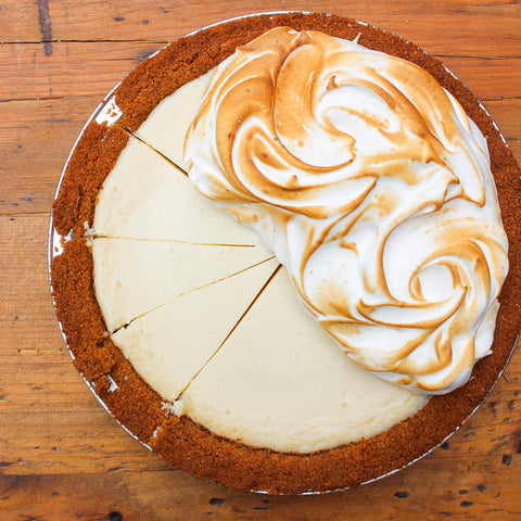 Key Lime Pie with Swiss Meringue