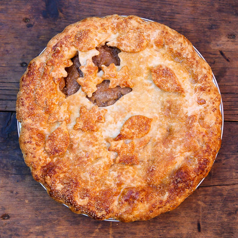 Classic Apple Pie made with 20 varieties of New York farm apples!