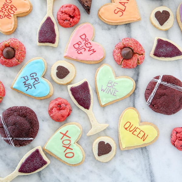 Galentine's Day cookie assortment. The perfect gift for your girlfriends!