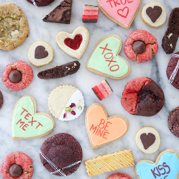 Valentine's Day cookie assortment. The perfect Valentine's Day gift