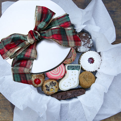 Christmas Cookie Tin - Large