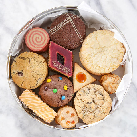 Seasonal Cookie Tin - Winter