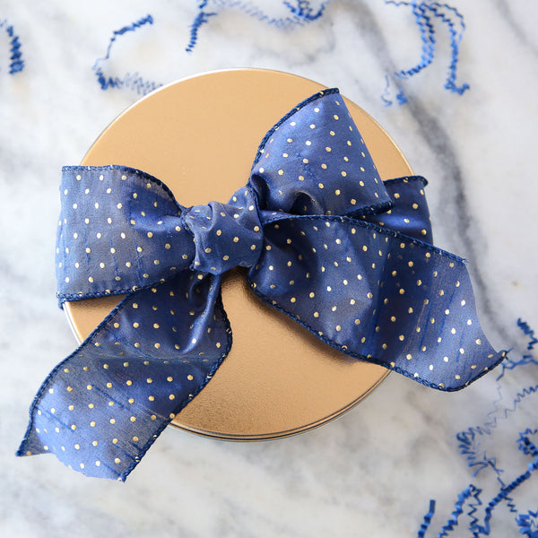 Signature Chef Lindsey Farr Gift Tin Blue Bow