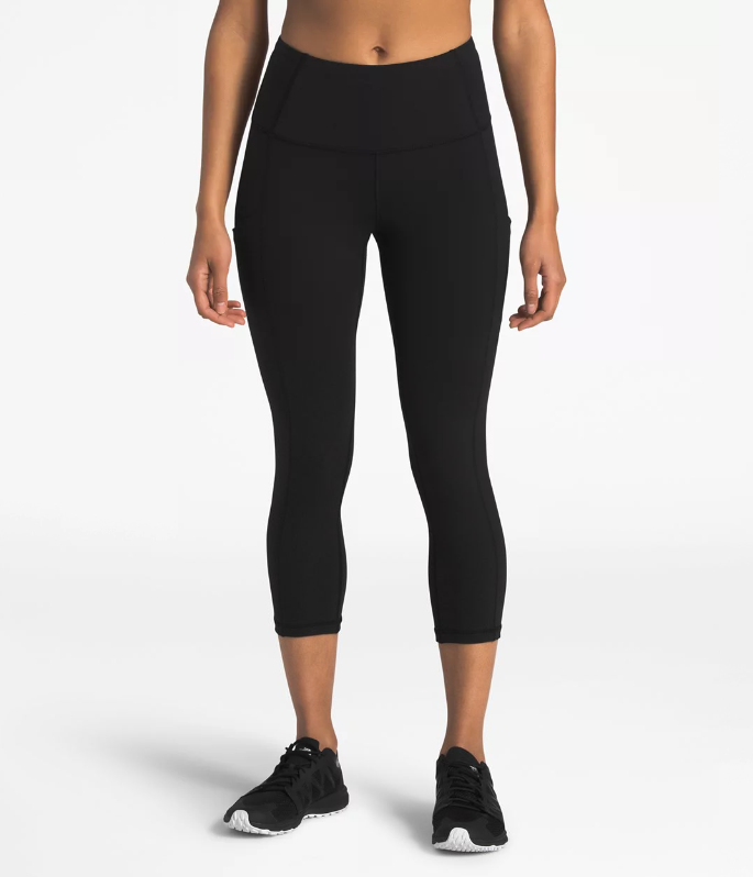 W The North Face Motivation High-Rise Pocket Crop