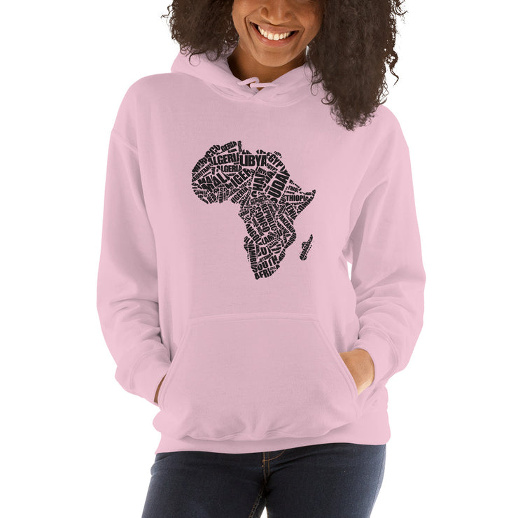 Africa On My Chest Unisex Hoodie