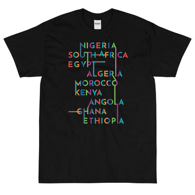 Nations Of Africa T-Shirt