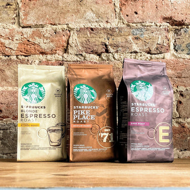 Starbucks® Coffee Whole Bean 3 pack - Espresso, Pike Place & Blonde Espresso | 600g - Ratton Pantry