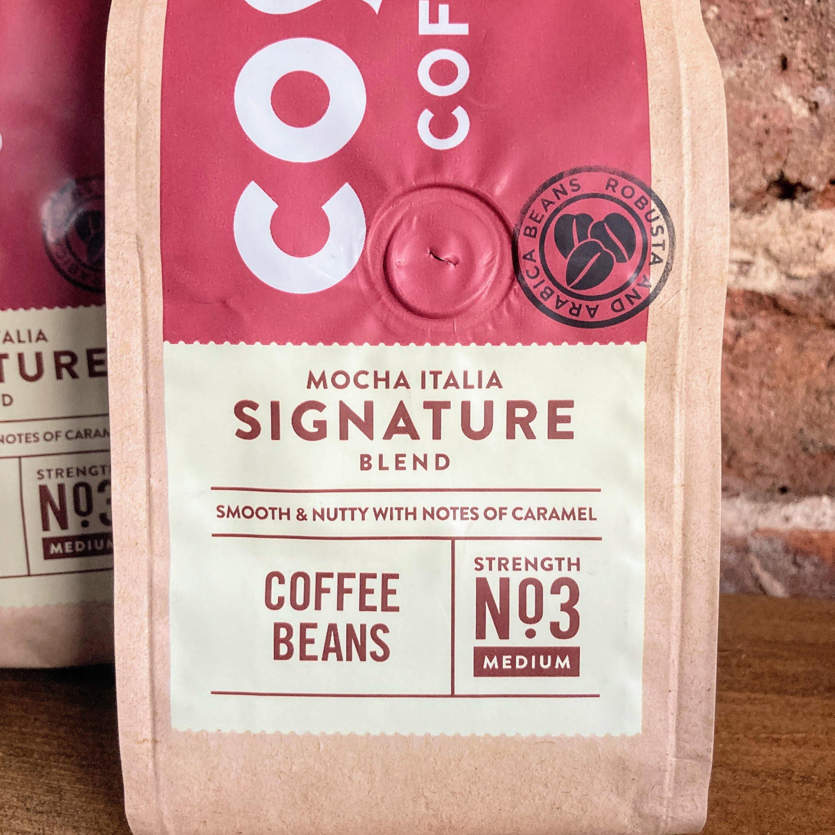 Costa Signature Blend Coffee Beans 3 pack - Mocha Italia Signature Blend | 600g - Ratton Pantry