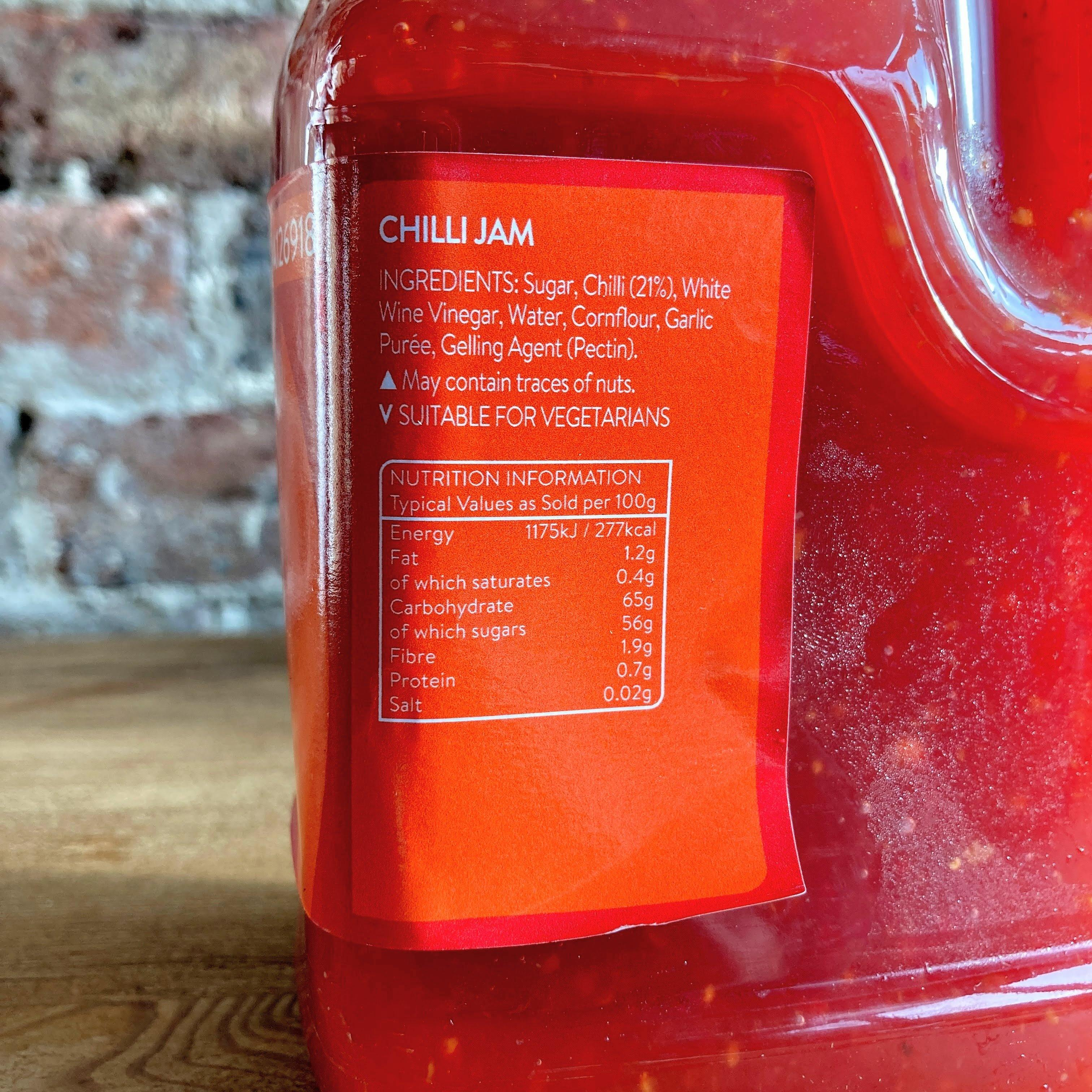 RP Chilli Jam 1.25kg | Large Size | Winner of the Food Quality Awards! - Ratton Pantry
