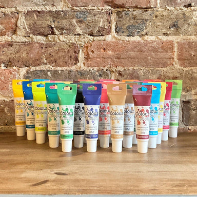 Colour Splash Concentrated Paste Gel - Full Set of 30 Colours - Ratton Pantry