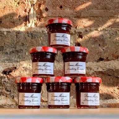 Bonne Maman Strawberry Conserve 30g Mini Jams|6|12|24 Pack - Ratton Pantry