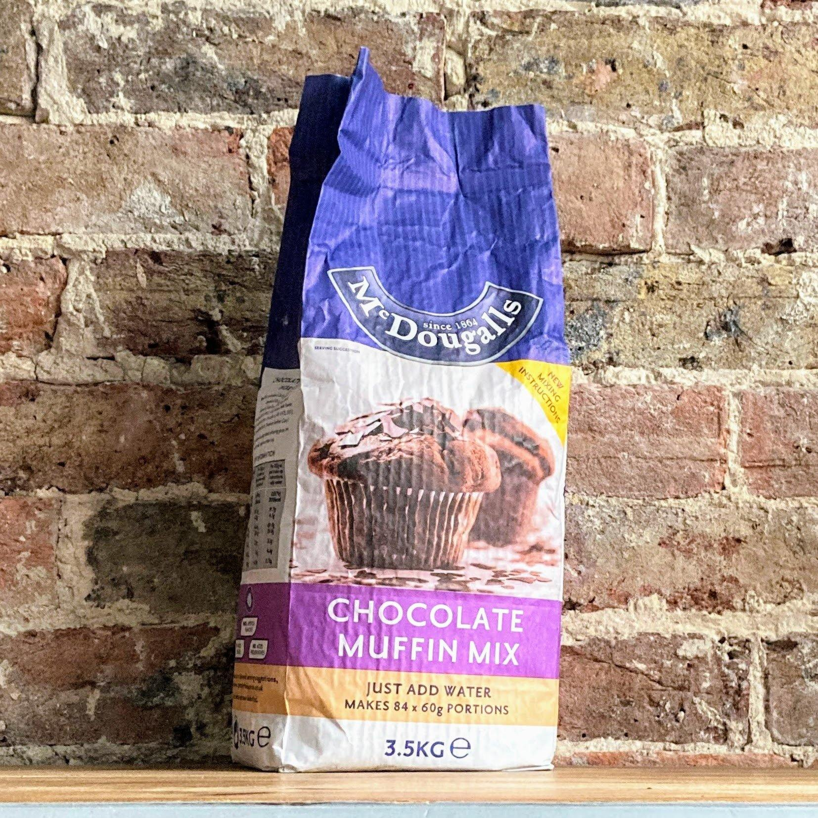 McDougalls® Chocolate Muffin Mix 3.5kg - Ratton Pantry