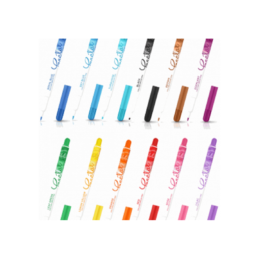 Fractal Colors Calligra icing colouring brush pen
