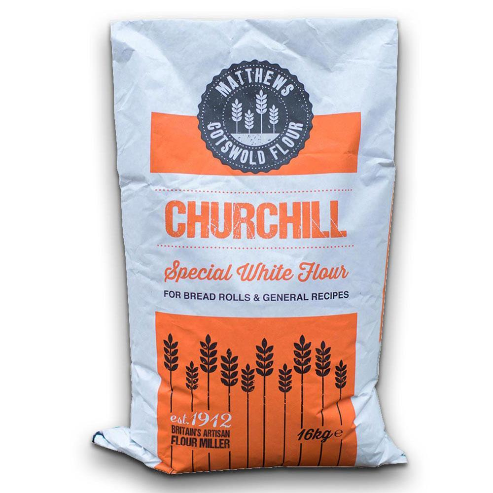 Matthews Cotswold Churchill Strong Bakers Flour 16kg