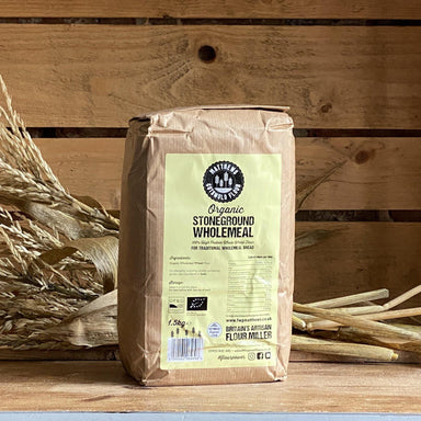 Matthews Cotswold Organic Stoneground Wholemeal Bread Flour 1.5kg & 4.5kg - Ratton Pantry