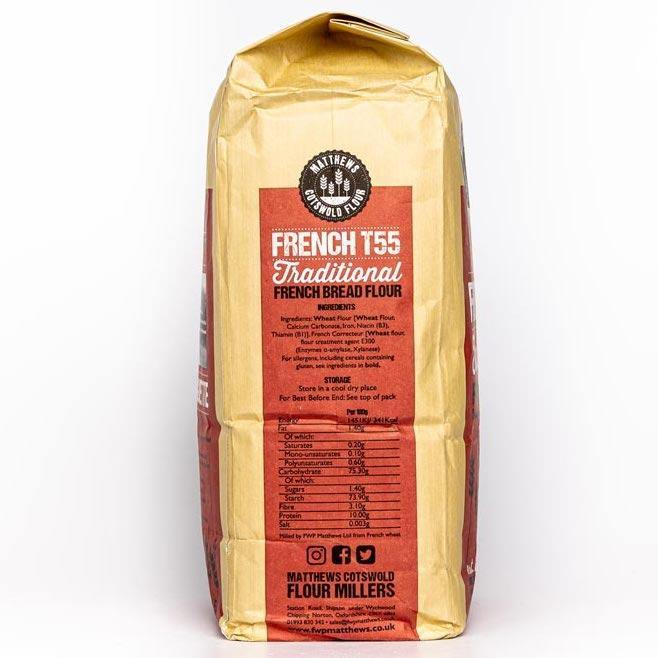 Matthews Cotswold French T55 Flour 1.5kg & 4.5kg - Ratton Pantry