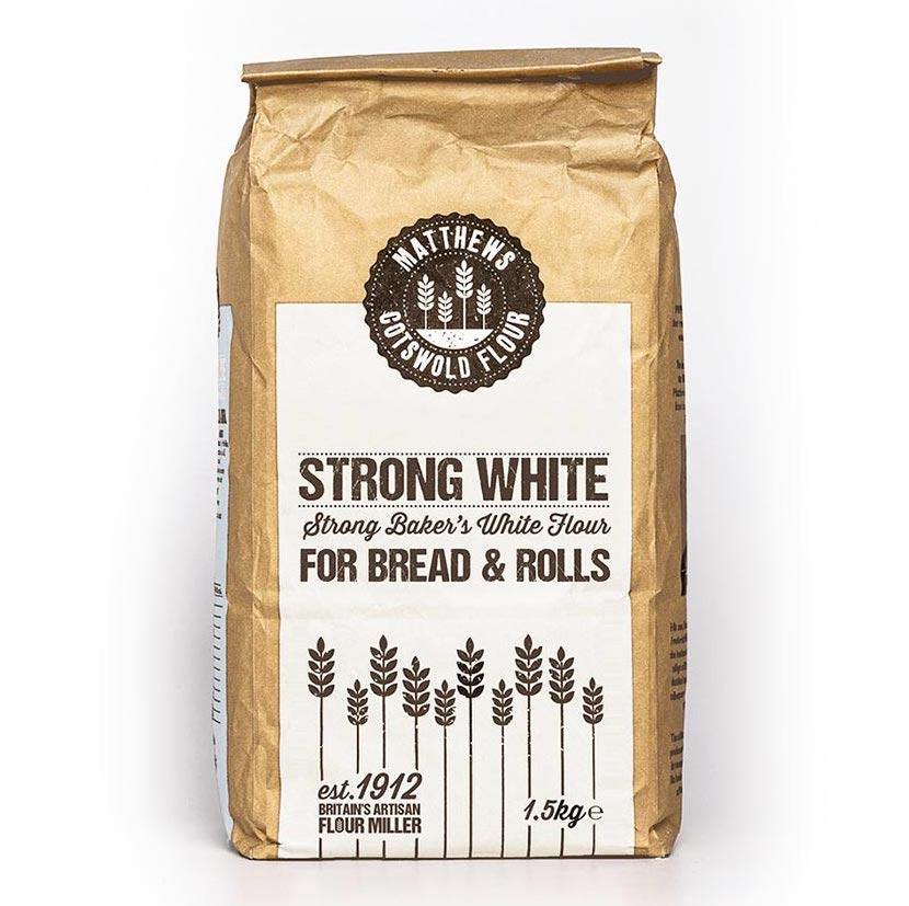 Matthews Cotswold Strong White Bread Flour 1.5kg & 4.5kg - Ratton Pantry