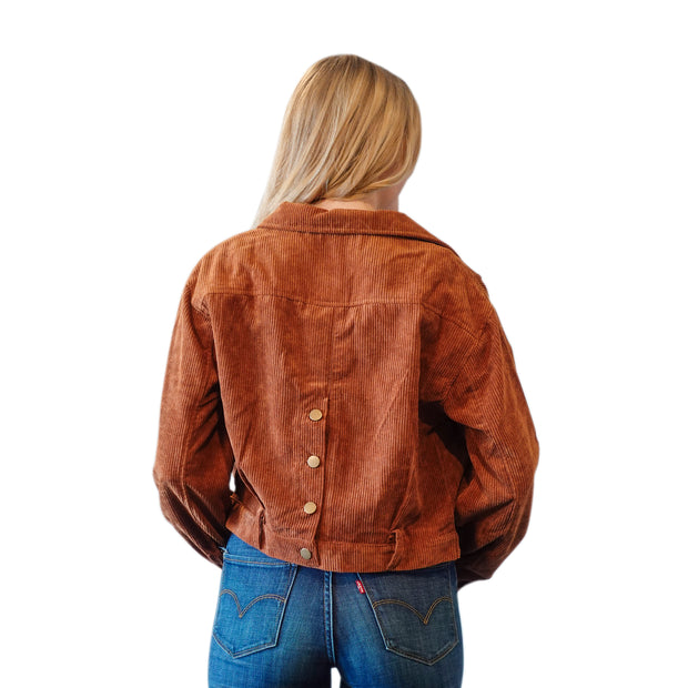 JULIA JACKET IN CORDUROY