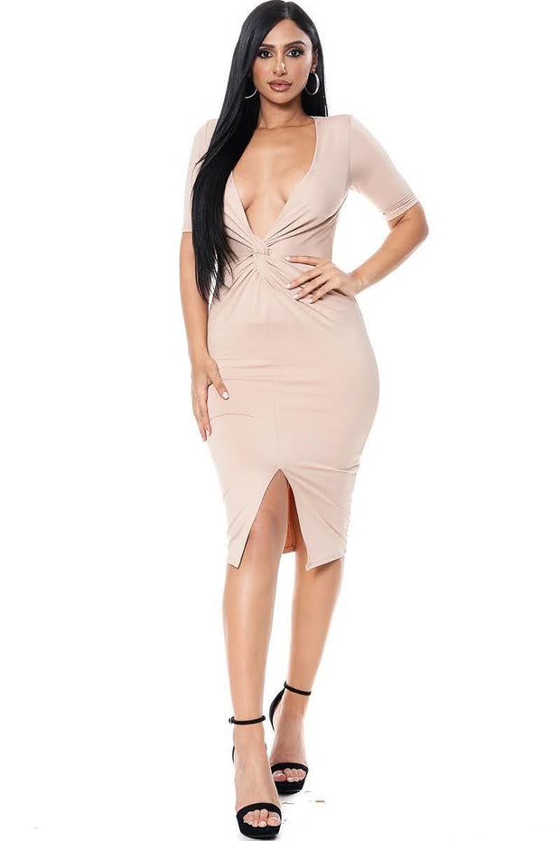 I'M BLUSHING BODYCON DRESS