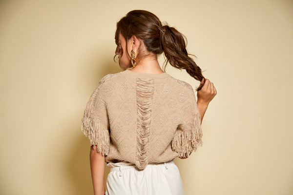 Knit Textured Top