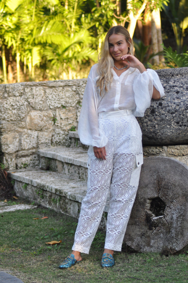 Bianca Lace Pants