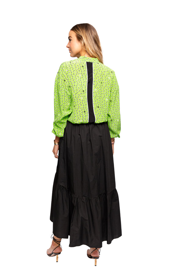 Green Star Blouse