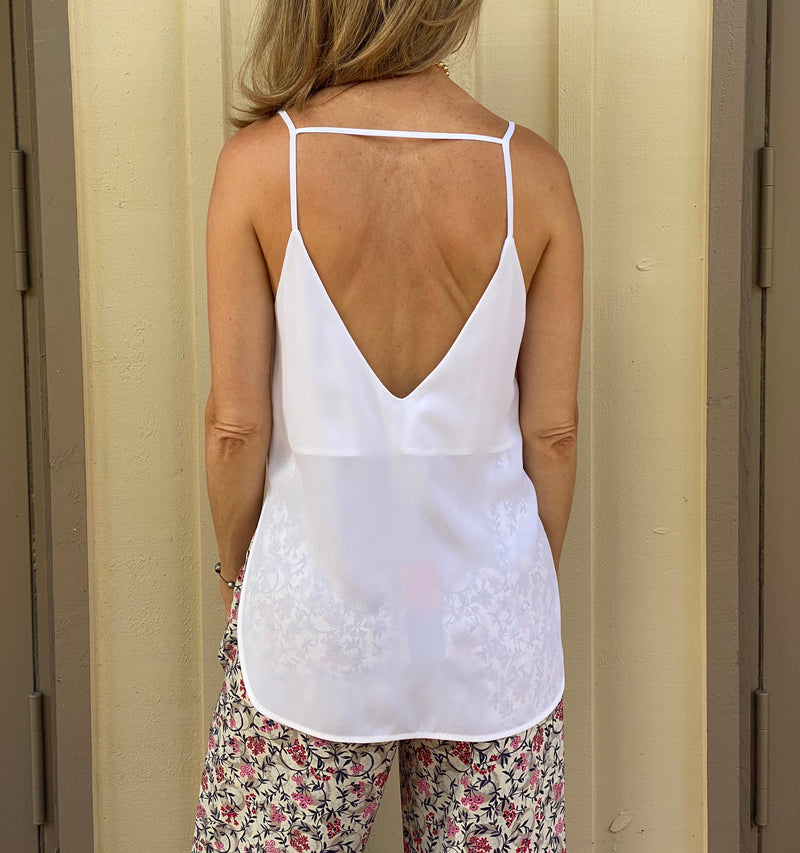 Tank Top with Back Detail