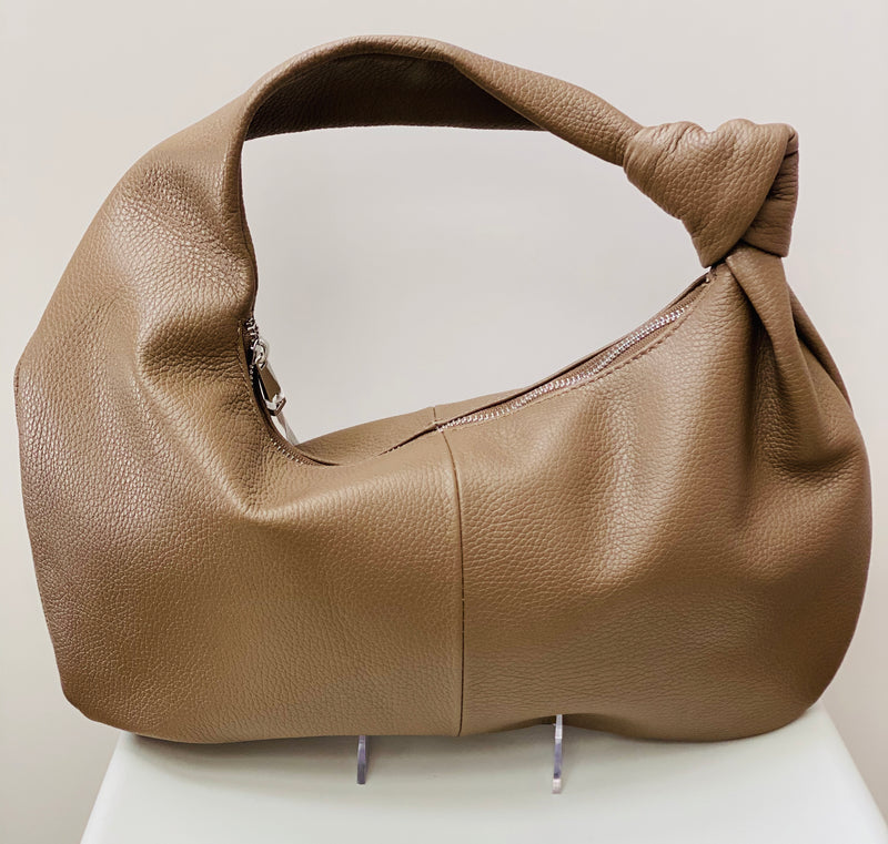 Handbag with Knot Detail