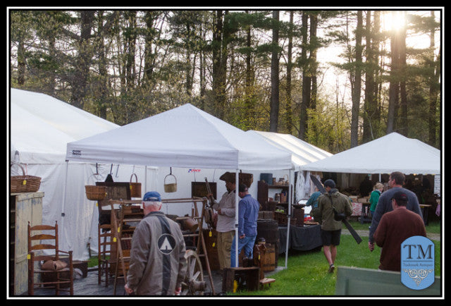 On the Road with TMA:   Brimfield, MA Antique Show