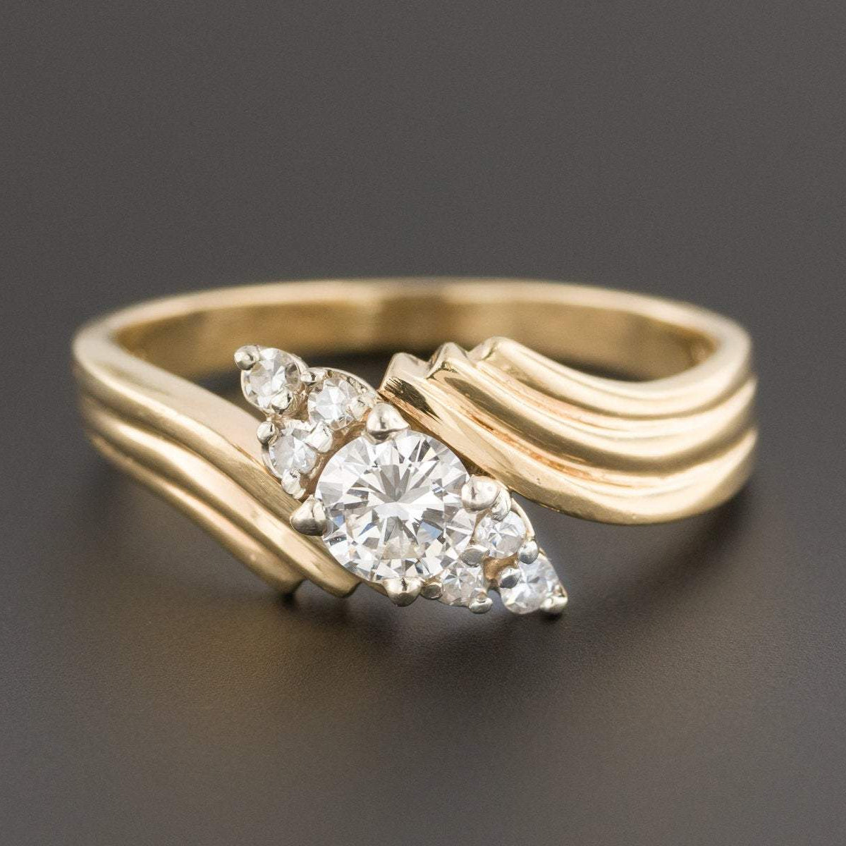 Engagement Ring | Vintage Diamond Ring | Vintage Engagement Ring | 14k Gold Ring | Yellow Gold Engagement Ring | Vintage Ring