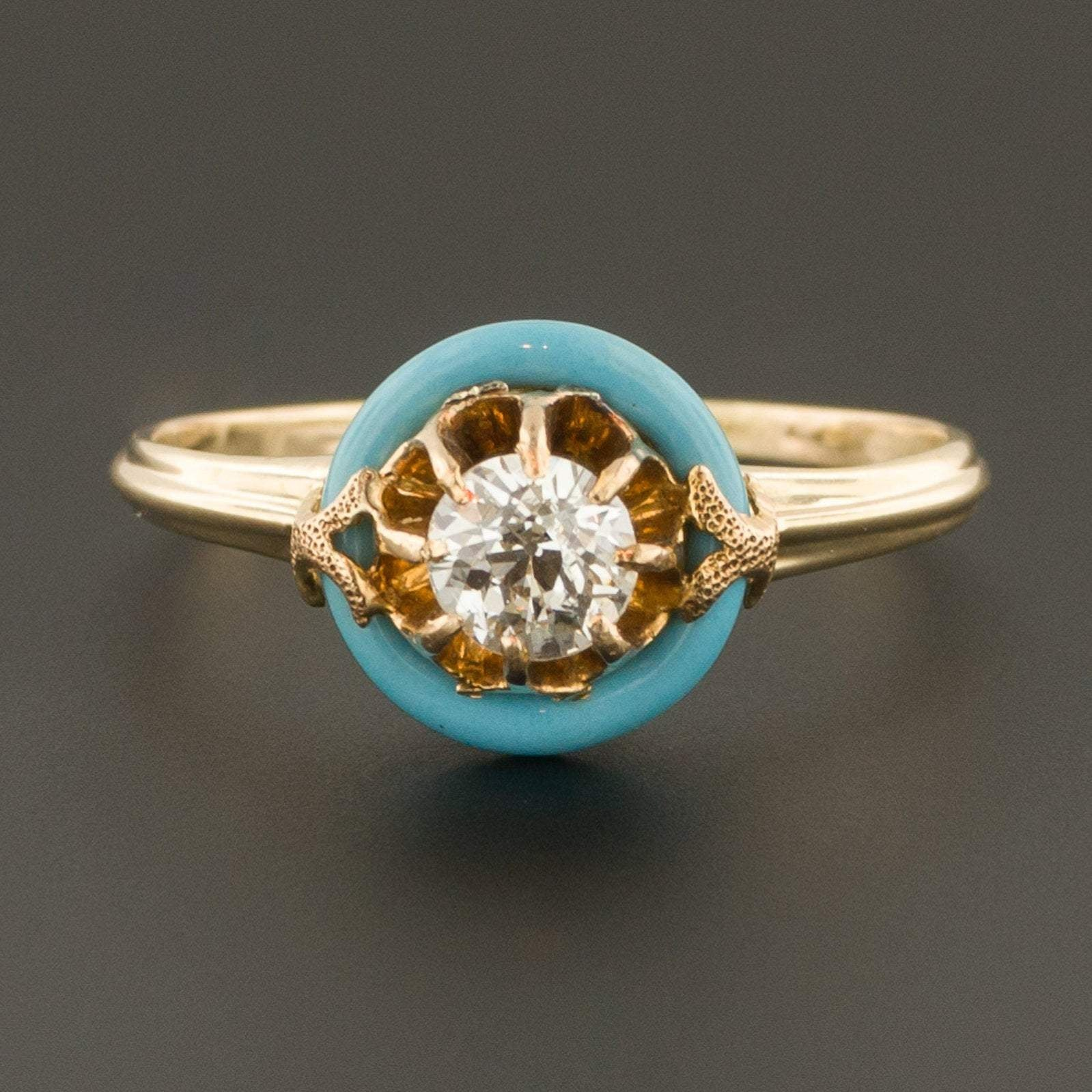 Engagement Ring | Diamond Ring-Trademark Antiques