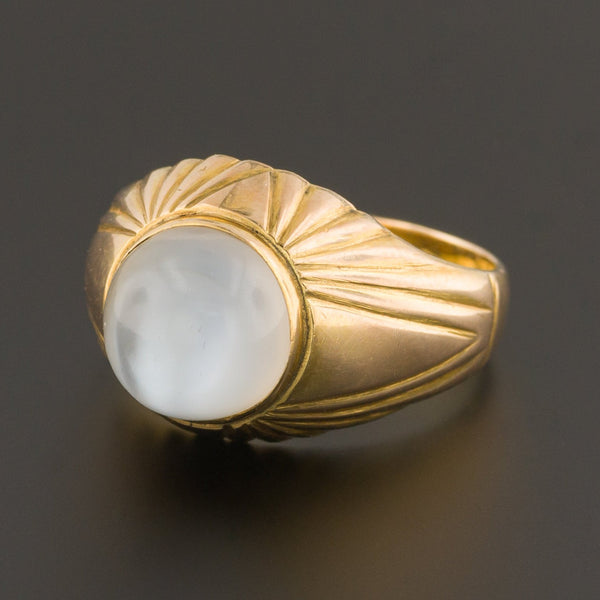 Moonstone Ring | Vintage Moonstone Ring-Trademark Antiques