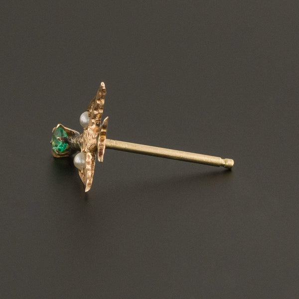Bird Earring | Single Stud Earring-Trademark Antiques