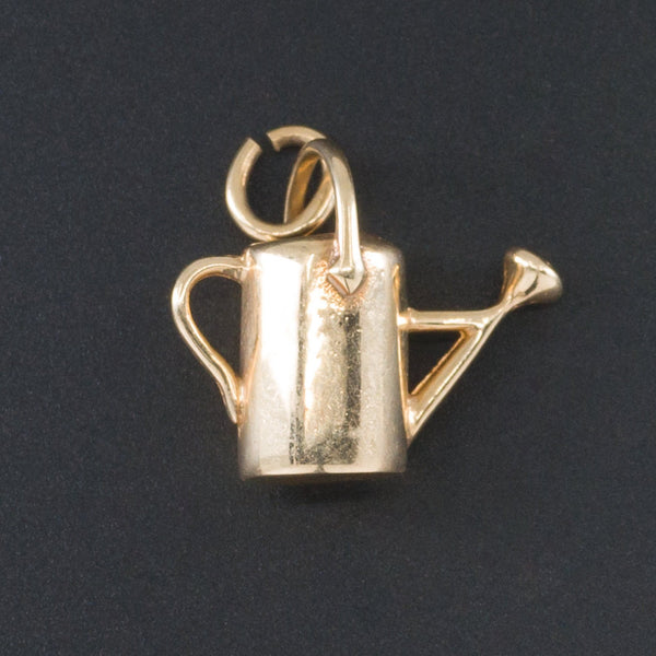 Gardner Charm | 14k Gold Watering Can Charm-Trademark Antiques