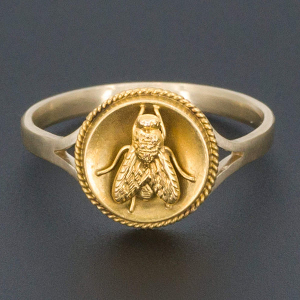 Fly Ring | Antique Insect Ring-Trademark Antiques