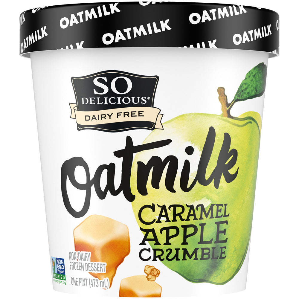 Caramel Apple Crumble Oatmilk Frozen Dessert