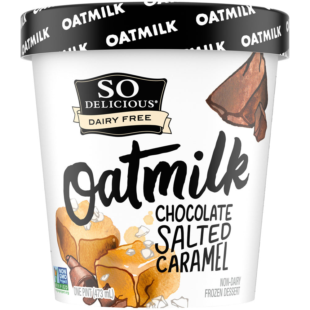 Chocolate Salted Caramel Oatmilk Frozen Dessert