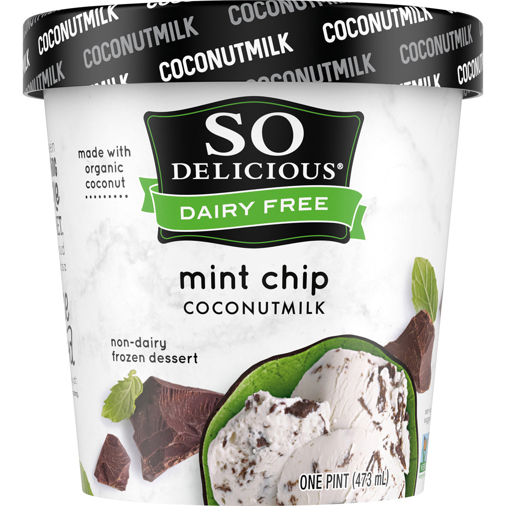 Mint Chip Coconutmilk Frozen Dessert