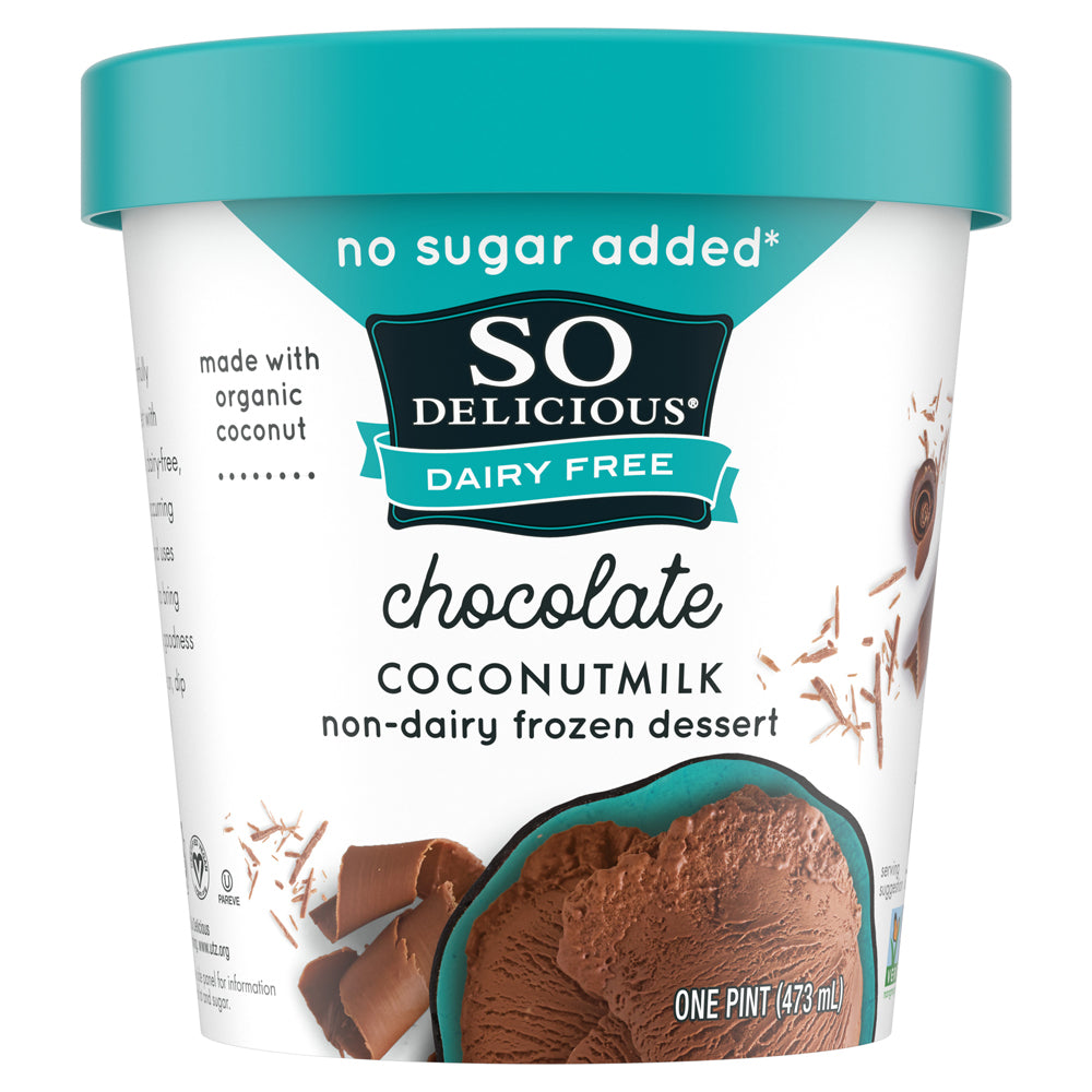 Chocolate No Sugar Added Coconutmilk Frozen Dessert