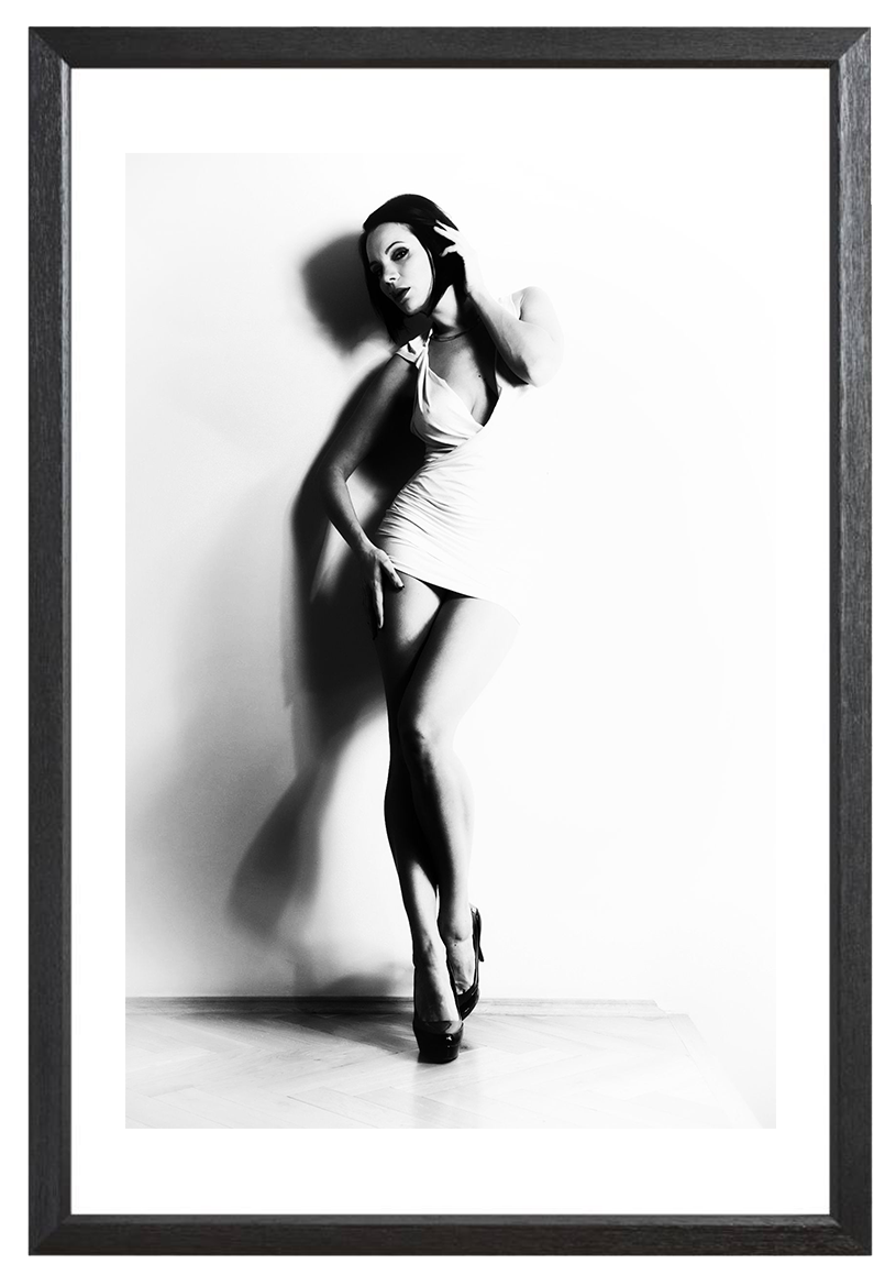 Diana Black & White - Fineart Print