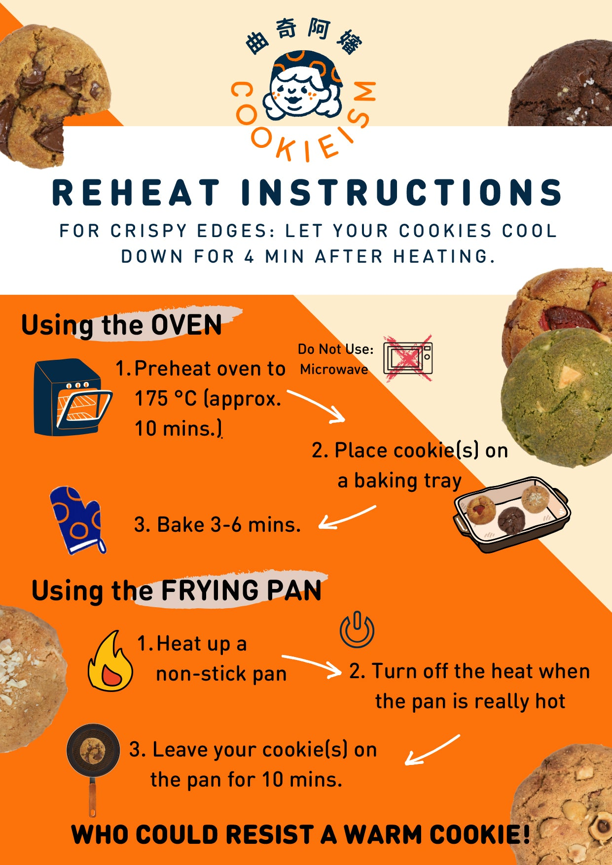 Reheat Instruction