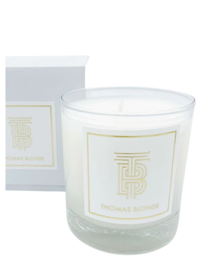 Signature Scent Blonde Candle || Thomas Blonde