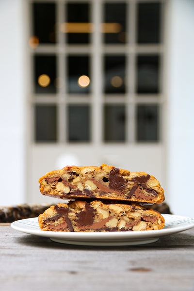 Triple Chocolate Walnut Cookie