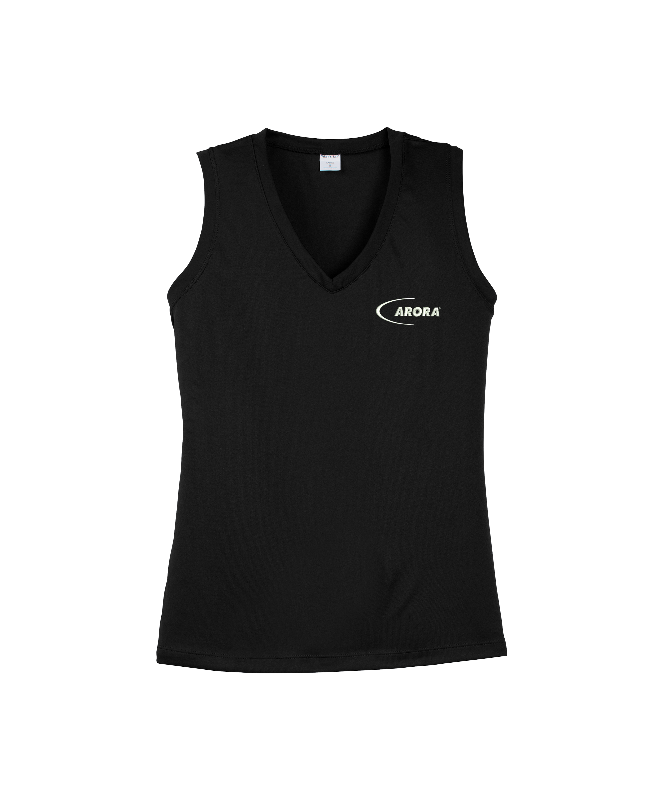 Sport-Tek® Ladies Sleeveless PosiCharge® Competitor™ V-Neck Tee