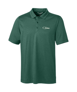 Men's Cascade Melange Stripe Polo