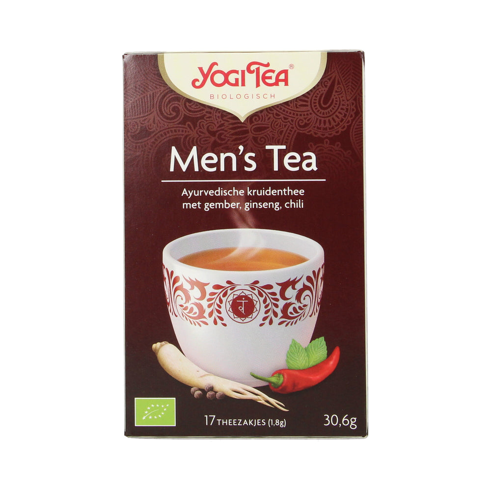 Men's Tea 17 builtjes BIO
