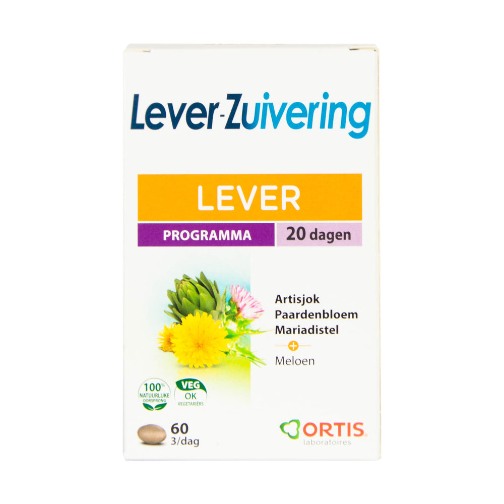 Lever-zuivering 60tabl.