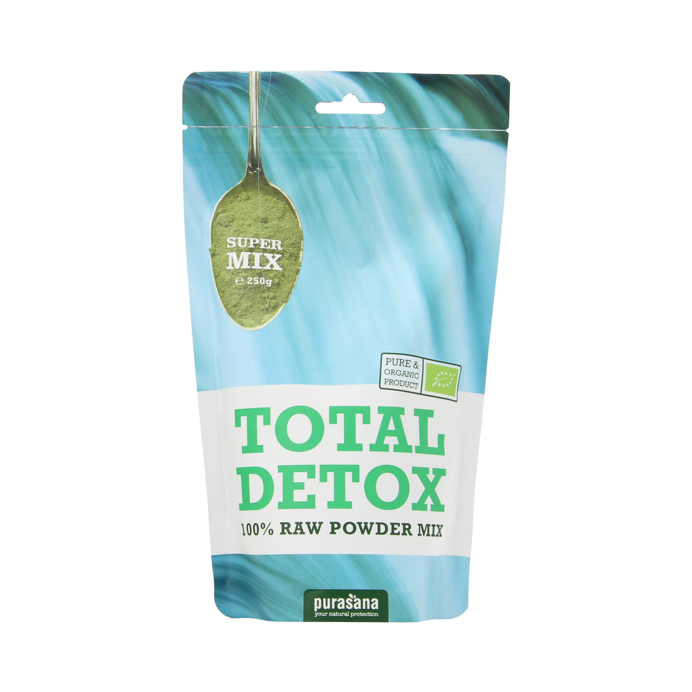 Total detox raw powder mix BIO 300gr